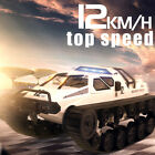 2.4G Drift RC Tank Car High Speed Full Proportional Remote Control Toy Kids