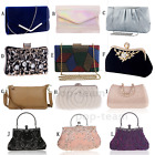 Women Clutch Wedding Purse Evening Party Bag Bridal Formal Prom Handbag Wristlet