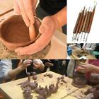 Clay Sculpting Set Wax Carving Pottery 6pcs Tools Polymer Modeling Tool CO image