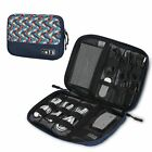 Electronics Organizer Travel Cable Organizer Gadgets Bag Accessories 4 USB Cable