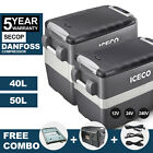 ICECO JP40/50 Portable Car Freezer/Fridge Camping Box, Refrigerator With Slide