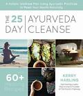 25-Day Ayurveda Cleanse by Harling  New 9781624148354 Fast Free Shipping--