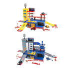 Kids Toy Garage Play Set Race Track Learning Toy Parking Lot (1/36 Scale Model)