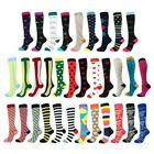 3Pair Mens Women Compression Socks Running Medical Sports Calf Support Stockings
