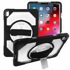 "For Apple iPad Pro 11"" (2018) Rotatable Stand Hard TPU Hybrid Case Cover w/stand"