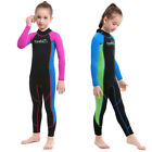 Slinx 2mm Neoprene Swimsuit Kids One Piece Wetsuits Long Sleeve Boys Girls