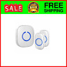 Model CX Wireless Doorbell 2 Remote Buttons Easy Install Range Over ...