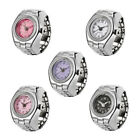 Finger Ring Watch Dial Quartz Analog Watch Creative Steel Cool Elastic Quartz image