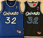 NEW Shaq Shaquille O'Neal #32 Orlando Magic Men's Throwback Black / Blue Jersey on eBay