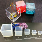 Diy ToolX1F Mould Craft Silicone Pendant Mold Jewelry Making Cube Resin Casting