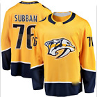PK Subban Nashville Predators 76 stitched jersey yellow white mens player game