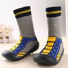 Baby Toddler Shoes Moccasins Non-slip Rubber Bottom Indoor Slippers-Socks New