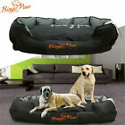 Extra Large Jumbo Orthopedic Dog Bed Soft Washable Kennel Pet Basket Waterproof