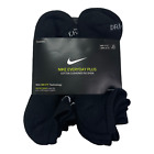 Nike Everyday Plus Cotton Cushioned No Show Socks Dri-Fit 1 3 6 pairs L (8-12)