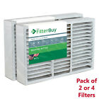 FilterBuy 16x25x5, AC Air Filters Honeywell FC200E1029 Compatible, MERV 13