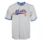 MLB New York Mets Men's Gray Retro Team Jersey Choose Size on Ebay