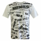 Nike Just Do It Patterned Short Sleeve Crew Mens Top T-Shirt 266269 100