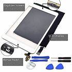 OEM LCD Touch Screen Digitizer Replacement For iPad Mini 2 3 White / Black Lot