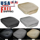 Car Breathable Front Seat Cover Pu Leather Pad Mat Cushion Full/half Surround Us