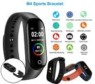 M4 Smart Watch Band Heart Rate Blood Pressure Monitor Tracker Fitness Wristband.