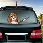 New Cute Cartoon Dog Stickers Funny Cool Moving Paw Window Wiper Stickers
