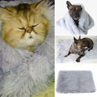 Women Dog Bed Nest Keep Warm Tool Machine Washable Cushion Blanket Pet Supplies