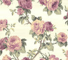 """Wallpaper Floral Rose Traditional Wall Decor -20.5"""" x 396"""" Roll (56 sq ft)"""