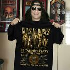 Guns N' Roses 35th anniversary members signed gift fan 1985-2020 T-Shirt S-5XL image