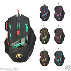 Professional 7 Buttons 7500DPI USB Optical Wired Gaming Mouse Mice  für PC Lapto