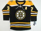 NWT Patrice Bergeron 37 Boston Bruins Authentic Player Jersey Black