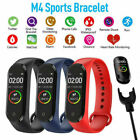 M4 Smart Watch Band Heart Rate Blood Pressure Monitor Tracker Fitness Wristband-
