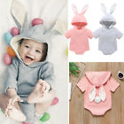 Kyпить US Infant Baby Girl Boy Easter Bunny Short Sleeve Romper Bodysuit Overall Outfit на еВаy.соm
