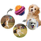 Pets Dog Puppy Rubber UFOS Leakage Food Container Molar Interactive Chew Toy Fun