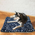 1X Pet Dog Blanket Kennel Cushion Mat Crate Cage Pad Waterproof Outdoor Warm