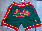 Seattle Sonics MENS Just Don Summer League Time NBA Team Basketball Shorts GREEN on eBay