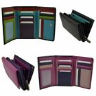 Ladies Real Leather Medium Purse/Wallet By Golunski Gift Womens Handy Multi image