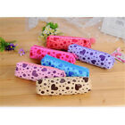 Multifunctional Love Heart Print Pen Case Bag Cosmetic Makeup Storage Pouch Co