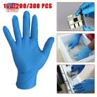 Kyпить Unisex Disposable Nitrile Gloves Labor Protection Stretch Plastic Blue Gloves US на еВаy.соm