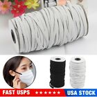 100M Elastic Bands for DIY Braided Elastic Cord Crafts Elastic Rope Sewing 3-6mm