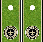New Orleans Saints Cornhole Wrap NFL Decal Vinyl Gameboard Skin Set D419 $39.55 USD on eBay