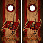 Tampa Bay Buccaneers Cornhole Wrap NFL Decal Wood Vinyl Gameboard Skin Set YD313 $39.55 USD on eBay