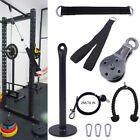 Used, Home Lat Pull Down Workout Cable Pulley Multi Gym Equipment Hanging Strap Mount for sale  Shipping to Nigeria