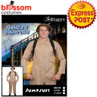 CA1262 Afraid No Ghost Ghostbusters Ghost Busters Mens Halloween 1980s Costume