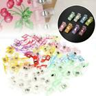 Plastic Holding Clip Set For Crafts Quilting Sewing Knitting Kits Crochet S2j7