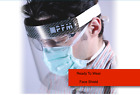 Safety Full Face Shield Clear Protector Anti-Splash Work Industry Dental