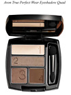 AVON  True Perfect Wear Eyeshadow Quad Various Colours BNIB FREE POST