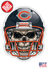 Chicago Bears Skull Helmet NFL Football Sticker $4.99 USD on eBay