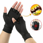 Copper Compression Gloves Arthritis Carpal Tunnel Hand Support Pain Relief