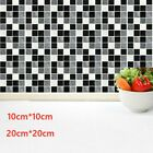 Large Kitchen Tile Stickers Bathroom Mosaic Sticker Self-adhesive Wall Decor Diy