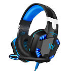 Gaming Headset with Mic Volume Control LED 3.5 mm Headphones for PC PS4 Xbox One